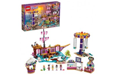 competitive LEGO Friends Heartlake City Amusement Park with Toy Rollercoaster Building Set with Mini Dolls 41375 reasonable cheap