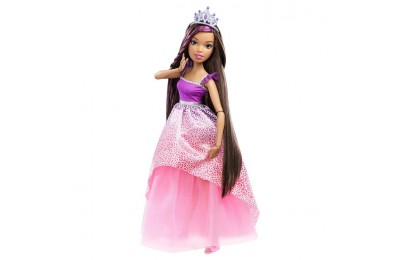 "competitive Barbie Dreamtopia Princess 17"" Nikki Doll reasonable cheap"