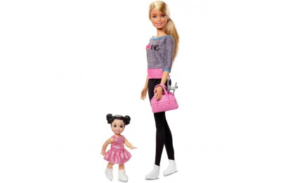 cheap Barbie Ice-skating Coach Dolls & Playset reasonable competitive