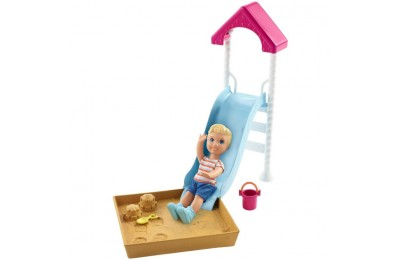 competitive Barbie Skipper Babysitters Inc. Friend Doll and Playground Playset reasonable cheap