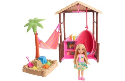 competitive Barbie Chelsea Tiki Hut Playset cheap reasonable