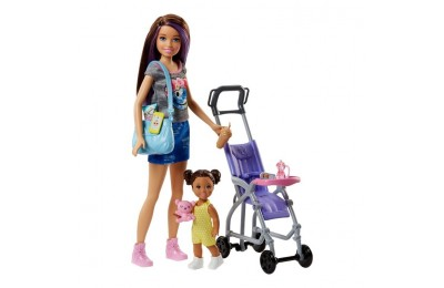 reasonable Barbie Skipper Babysitters Inc. Doll and Stroller Playset cheap competitive