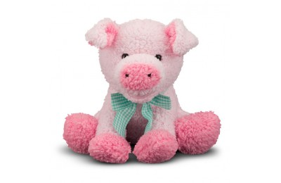 cheap Melissa & Doug Meadow Medley Piggy - Stuffed Animal With Sound Effect competitive reasonable