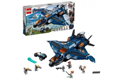 cheap LEGO Marvel Avengers Ultimate Quinjet 76126 competitive reasonable