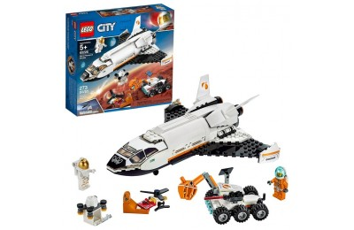 reasonable LEGO City Space Mars Research Shuttle 60226 Space Shuttle Toy Building Kit with Mars Rover competitive cheap