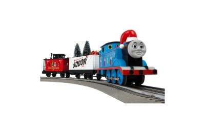 cheap Lionel Thomas & Friends Christmas Freight LionChief Train Set with Bluetooth competitive reasonable
