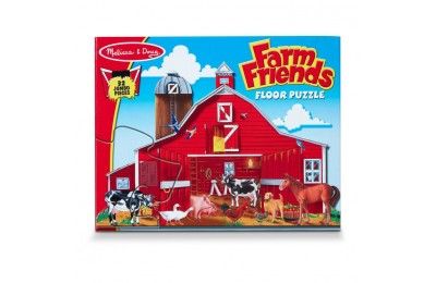 cheap Melissa And Doug Farm Friends Jumbo Floor Puzzle 32pc reasonable competitive