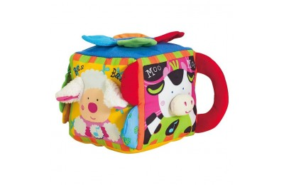 competitive Melissa & Doug K's Kids Musical Farmyard Cube Educational Baby Toy cheap reasonable