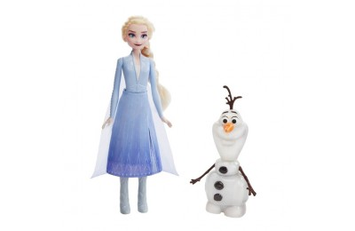 cheap Disney Frozen 2 Talk and Glow Olaf and Elsa Dolls competitive reasonable
