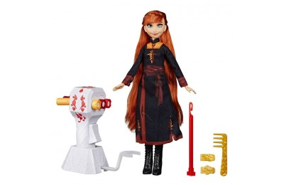 competitive Disney Frozen 2 Sister Styles Anna Fashion Doll With Extra-Long Red Hair, Braiding Tool and Hair Clips reasonable cheap