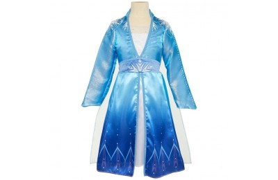 cheap Disney Frozen 2 Elsa Travel Dress, Size: Small, MultiColored competitive reasonable