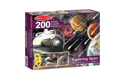 reasonable Melissa & Doug Exploring Space Jumbo Jigsaw Floor Puzzle 200pc competitive cheap
