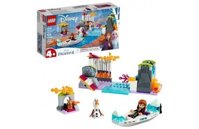 cheap LEGO Disney Princess Frozen 2 Anna's Canoe Expedition 41165 Frozen Adventure Easy Building Kit 108pc reasonable competitive