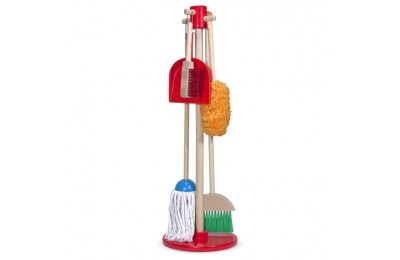 reasonable Melissa & Doug Let's Play House! Dust, Sweep & Mop 6 Pc Set competitive cheap
