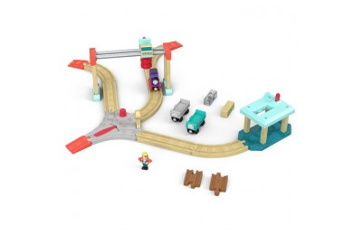 competitive Fisher-Price Thomas & Friends Wood Lift & Load Cargo Set cheap reasonable