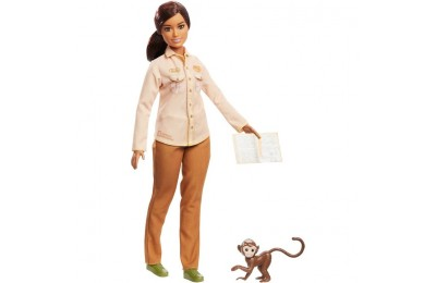 competitive Barbie National Geographic Doll with Monkey cheap reasonable