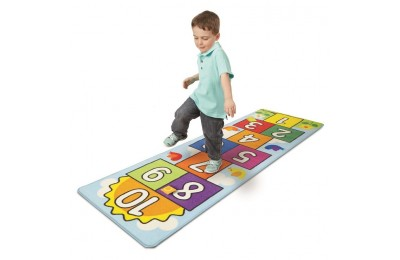 reasonable Melissa & Doug Hop & Ct Hopscotch Rug, Kids Unisex cheap competitive