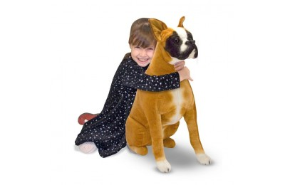 reasonable Melissa & Doug Giant Boxer - Lifelike Stuffed Animal Dog competitive cheap