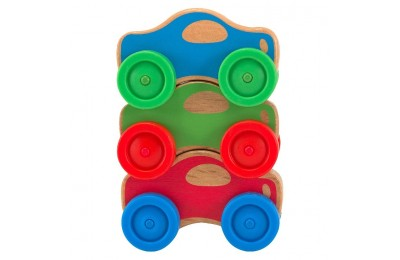 competitive Melissa & Doug Stacking Cars Wooden Baby Toy cheap reasonable