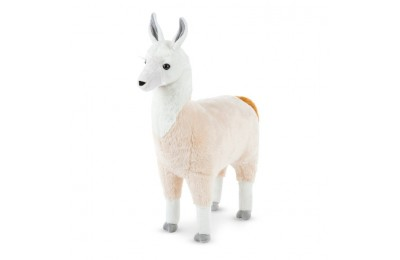 "reasonable Melissa & Doug Standing Lifelike Plush Llama Stuffed Animal (31"" x 30 "" x 9.5"") cheap competitive"
