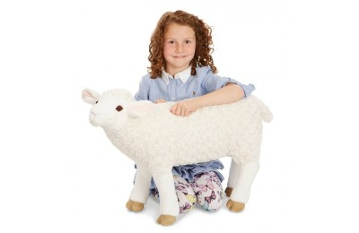 competitive Melissa & Doug Giant Sheep - Lifelike Stuffed Animal (nearly 2 feet tall) reasonable cheap