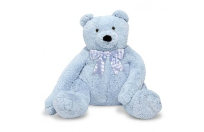 reasonable Melissa & Doug Jumbo 2' Teddy Bear - Blue cheap competitive