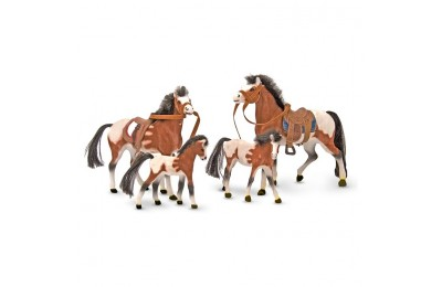 competitive Melissa & Doug Horse Family With 4 Collectible Horses cheap reasonable