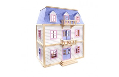 cheap Melissa & Doug Multi-Level Dollhouse competitive reasonable