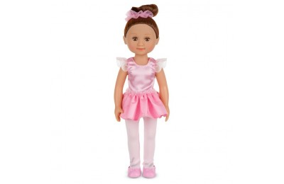 competitive Melissa & Doug Victoria 14-Inch Poseable Ballerina Doll With Leotard and Tutu reasonable cheap