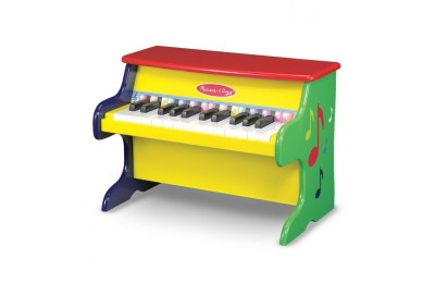 reasonable Melissa & Doug Learn-To-Play Piano With 25 Keys and Color-Coded Songbook competitive cheap
