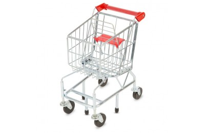 cheap Melissa & Doug Toy Shopping Cart With Sturdy Metal Frame competitive reasonable