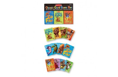cheap Melissa & Doug Classic Card Games Set - Old Maid, Go Fish, Rummy reasonable competitive