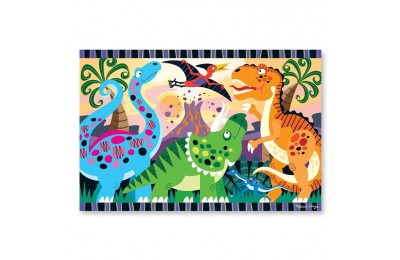 reasonable Melissa & Doug Dinosaur Dawn Jumbo Jigsaw Floor Puzzle (24pc, 2 x 3 feet) cheap competitive