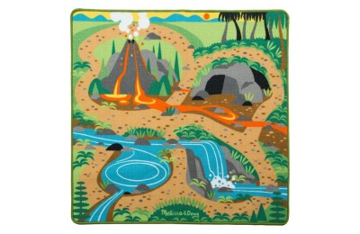 "competitive Melissa & Doug Prehistoric Playground Dinosaur Activity Rug (39 X 36"") - 4 Toy Animals Toy cheap reasonable"