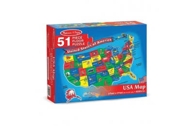 competitive Melissa And Doug Usa Map Floor Puzzle 51pc cheap reasonable