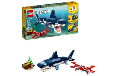 reasonable LEGO Creator Deep Sea Creatures Building Kit Sea Animal Toys for Kids 31088 competitive cheap