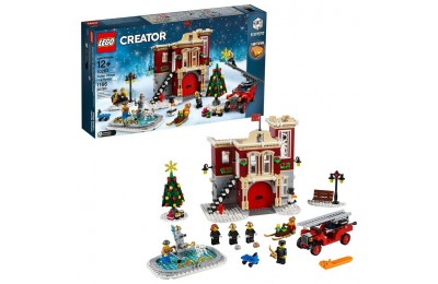 reasonable LEGO Creator Winter Village Fire Station 10263 cheap competitive