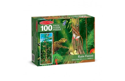 cheap Melissa & Doug Rainforest Jumbo Jigsaw Floor Puzzle 100pc reasonable competitive