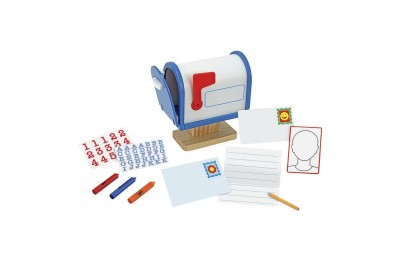 reasonable Melissa & Doug My Own Wooden Mailbox Activity Set and Educational Toy cheap competitive