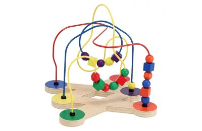 competitive Melissa & Doug Classic Bead Maze - Wooden Educational Toy reasonable cheap