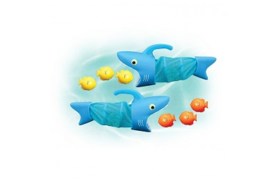 competitive Melissa & Doug Sunny Patch Spark Shark Fish Hunt Pool Game With 2 Nets and 6 Fish to Catch cheap reasonable