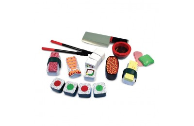 cheap Melissa & Doug Sushi Slicing Wooden Play Food Set reasonable competitive
