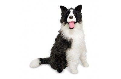 cheap Melissa & Doug 2' Giant Border Collie competitive reasonable