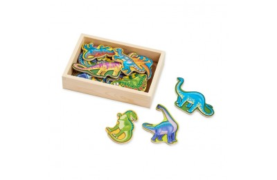 competitive Melissa & Doug Magnetic Wooden Dinosaurs with Wooden Tray - 20pc cheap reasonable
