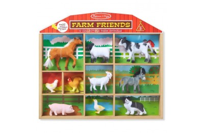 competitive Melissa & Doug Farm Friends - 10 Collectible Farm Animals reasonable cheap