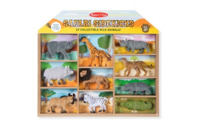 competitive Melissa & Doug Safari Sidekicks - 10 Collectible Wild Animals reasonable cheap