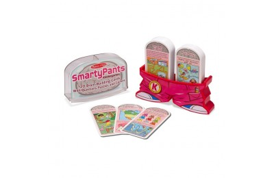 reasonable Melissa & Doug Smarty Pants Kindergarten Card Set - 120 Educational, Brain-Building Questions, Puzzles, and Games, Kids Unisex cheap competitive