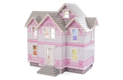 competitive Melissa & Doug Victorian Dollhouse reasonable cheap