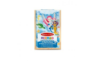 reasonable Melissa & Doug Mermaid Magnetic Dress-up competitive cheap
