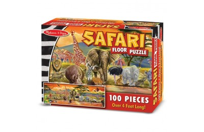 competitive Melissa And Doug African Plains Safari Jumbo Floor Puzzle 100pc reasonable cheap